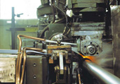HIGH FREQUENCY FINNING MACHINE